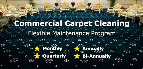 commercial carpet cleaning program